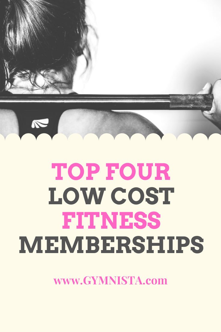Low Cost Fitness Memberships